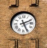 Orologio della chiesa fotografia stock