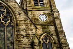 Orologio della chiesa Immagini Stock