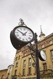 Orologio della citt Fotografia Stock Libera da Diritti