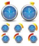 Orologio della cucina Fotografie Stock
