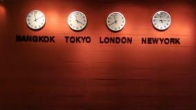 Orologio della fascia oraria Immagini Stock