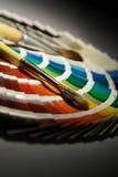 Orologio della gamma di colori Fotografia Stock