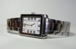 Orologio della mano Fotografie Stock Libere da Diritti