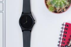 Orologio della mano Fotografie Stock