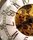 Orologio della perla Fotografie Stock Libere da Diritti