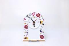 Orologio della porcellana Fotografie Stock Libere da Diritti