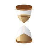 Orologio della sabbia della clessidra Immagini Stock Libere da Diritti