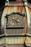 Orologio della torretta di chiesa della st Peter Fotografia Stock Libera da Diritti