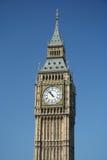 Orologio della torretta di Londra grande Ben Fotografia Stock