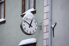 Orologio della via Fotografia Stock