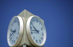 Orologio della via Immagine Stock