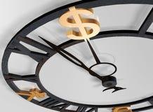 Orologio di affari Immagine Stock