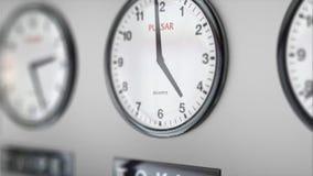 Orologio di affari delle fasce orarie royalty illustrazione gratis