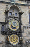 Orologio di astronomia da Praga in repubblica Ceca Immagine Stock Libera da Diritti