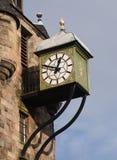 Orologio di Canongate Tolbooth Fotografia Stock Libera da Diritti