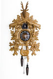Orologio di cuculo Fotografie Stock Libere da Diritti