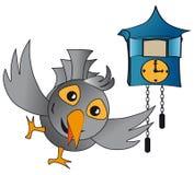 Orologio di cuculo Immagini Stock