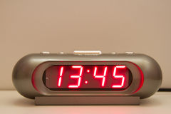 Orologio di Digital Immagini Stock Libere da Diritti