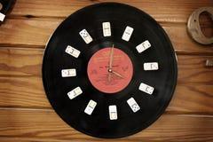 Orologio di domino Immagini Stock