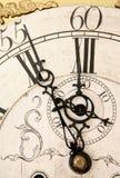 Orologio di giorno del giudizio universale Fotografia Stock Libera da Diritti