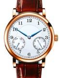 Orologio di lusso del quarzo Fotografie Stock