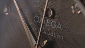 Orologio di marca di Omega archivi video