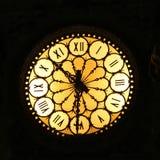 Orologio di notte Fotografia Stock Libera da Diritti