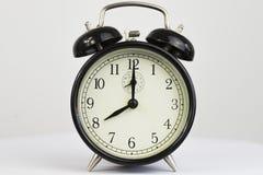 Orologio di otto ore di in punto dell'allarme retro Fotografia Stock