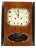 Orologio di parete. Fotografia Stock