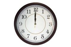 Orologio di parete Fotografie Stock