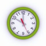orologio di parete 3D Fotografia Stock Libera da Diritti