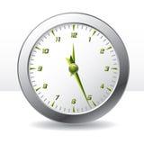 Orologio di parete Analog Fotografie Stock Libere da Diritti