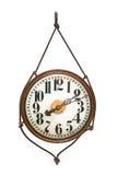Orologio di parete antico rotondo Fotografie Stock Libere da Diritti