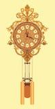 Orologio di parete Chiming Fotografie Stock