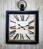 Orologio di parete dell'annata Fotografia Stock