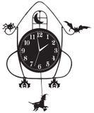 Orologio di parete per Halloween Fotografia Stock Libera da Diritti