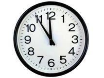 Orologio di parete rotondo Fotografie Stock