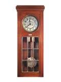 Orologio di pendolo antico Fotografie Stock Libere da Diritti