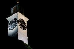 Orologio di pietra Fotografie Stock