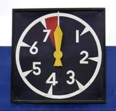 Orologio di polo Immagine Stock