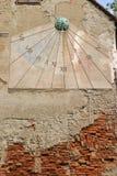 Orologio di Sun a Zagabria Immagine Stock Libera da Diritti