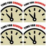 Orologio di tempo Fotografie Stock Libere da Diritti
