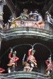 Orologio di vecchia città corridoio a Monaco di Baviera Fotografia Stock Libera da Diritti