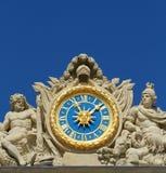 Orologio di Versailles Fotografia Stock Libera da Diritti
