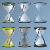 Orologio di vettore Fotografie Stock