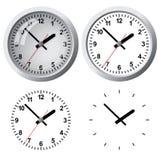 Orologio digitale fissato al muro Fotografia Stock Libera da Diritti