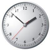 Orologio digitale fissato al muro Fotografie Stock Libere da Diritti