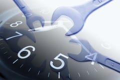 Orologio e chiavi Fotografia Stock