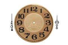Orologio e mano di orologio Fotografia Stock Libera da Diritti