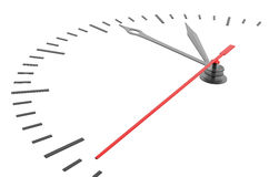 Orologio e timestamp senza numeri Fotografia Stock Libera da Diritti